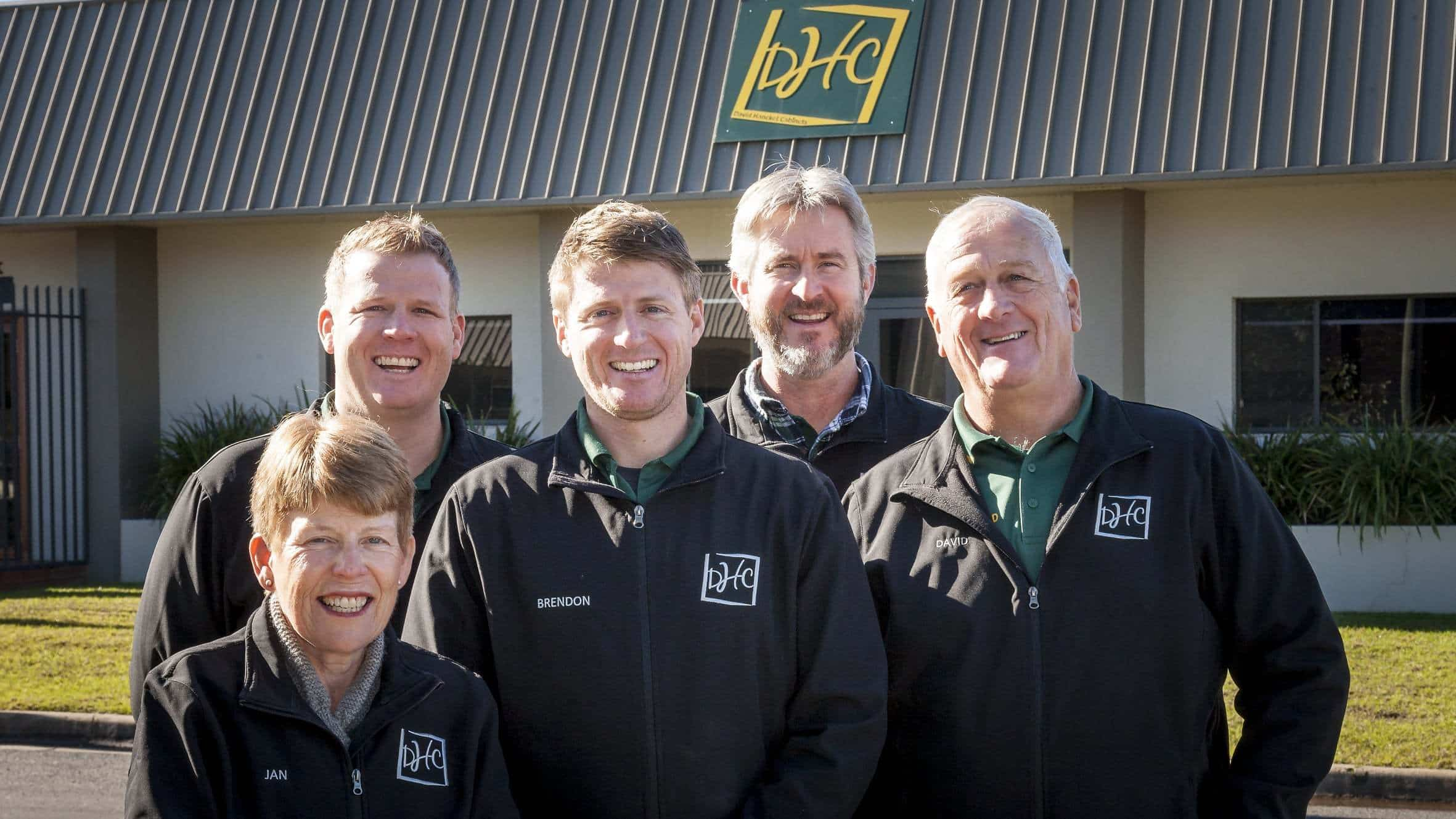 The David Hanckel Cabinets Team