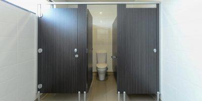 Commercial Bathroom Photo - David Hanckel Cabinets