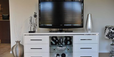 Residential TV Unit Photo - David Hanckel Cabinets